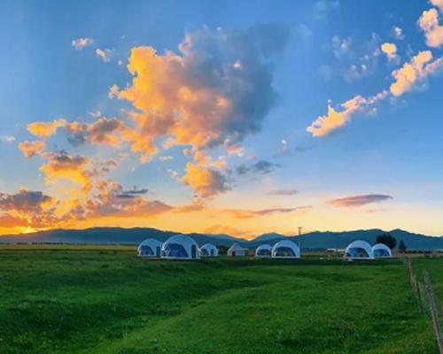 新疆伊犁昭苏星空帐篷